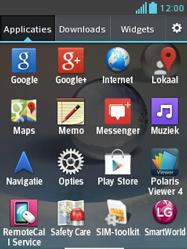 LG E430 Optimus L3 II - Voicemail - Handmatig instellen - Stap 3