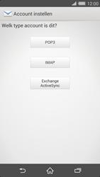 Sony Xperia Z2 4G (D6503) - E-mail - Handmatig instellen - Stap 8