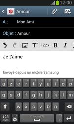 Samsung S7710 Galaxy Xcover 2 - E-mail - Envoi d