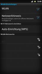 Sony Xperia S - WLAN - Manuelle Konfiguration - Schritt 7