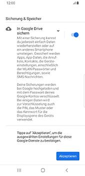 Samsung Galaxy S9 - Android Pie - E-Mail - Konto einrichten (gmail) - Schritt 11