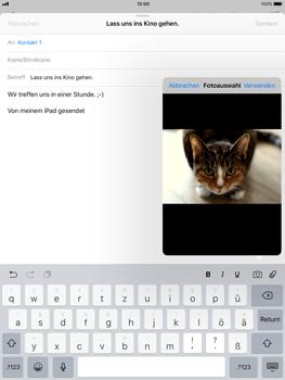 Apple iPad Air - E-Mail - E-Mail versenden - 1 / 1