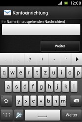 Sony Xperia E - E-Mail - Konto einrichten - Schritt 17
