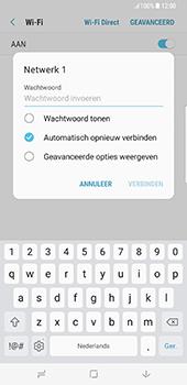 Samsung Galaxy S8 Plus - Wi-Fi - Verbinding maken met Wi-Fi - Stap 8