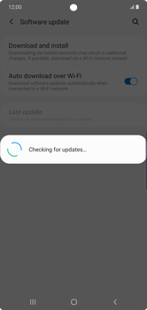 Samsung Galaxy Note 10 Plus 5G - Software - Installing software updates - Step 6