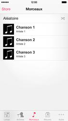 Apple iPhone 5c - Photos, vidéos, musique - Ecouter de la musique - Étape 4