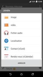 HTC Desire 530 - Contact, Appels, SMS/MMS - Envoyer un MMS - Étape 14