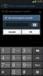 Samsung I9505 Galaxy S IV LTE - Messagerie vocale - Configuration manuelle - Étape 8