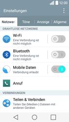 LG Leon 3G - Anrufe - Rufumleitungen setzen und löschen - 0 / 0