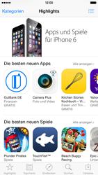 Apple iPhone 6 iOS 8 - Apps - Einrichten des App Stores - Schritt 4