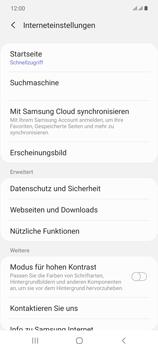 Samsung Galaxy Note 20 5G - Internet und Datenroaming - Manuelle Konfiguration - Schritt 28