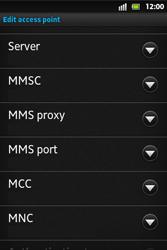 Sony ST27i Xperia Go - MMS - Manual configuration - Step 12