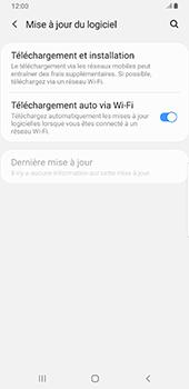 Samsung Galaxy S9 Plus - Android Pie - Logiciels - Installation de mises à jour - Étape 6