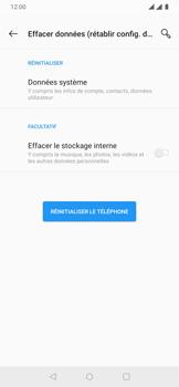 OnePlus 7 - Aller plus loin - Restaurer les paramètres d'usines - Étape 7