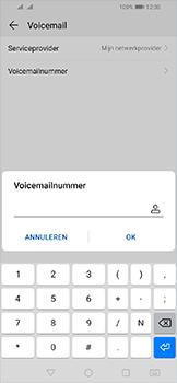 Huawei Y6 (2019) - Voicemail - handmatig instellen - Stap 9