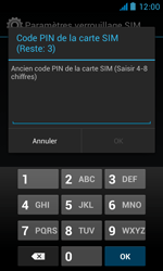 Bouygues Telecom Bs 402 - Sécuriser votre mobile - Personnaliser le code PIN de votre carte SIM - Étape 7