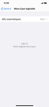 Apple iPhone X - iOS 13 - Appareil - Mises à jour - Étape 7