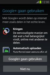 Samsung S6790 Galaxy Fame Lite - apps - account instellen - stap 19
