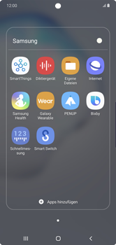 Samsung Galaxy Note 10 Plus 5G - Internet und Datenroaming - Manuelle Konfiguration - Schritt 21