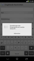 Sony Xperia M2 - E-Mail - Konto einrichten - Schritt 11