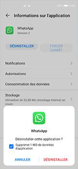 Huawei P40 - Applications - Supprimer une application - Étape 7