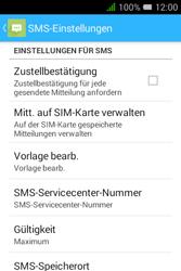 Alcatel OT-4009D Pixi 3 (3.5) - SMS - Manuelle Konfiguration - Schritt 8