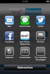 Apple iPhone 4S - Internet und Datenroaming - Verwenden des Internets - Schritt 11