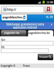 Samsung S5300 Galaxy Pocket - Internet - navigation sur Internet - Étape 10