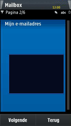 Samsung I8910 HD - E-mail - handmatig instellen - Stap 7