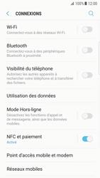 Samsung G935 Galaxy S7 Edge - Android Nougat - Wi-Fi - Accéder au réseau Wi-Fi - Étape 5