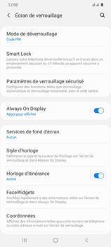 Samsung Galaxy S20 Ultra - Sécuriser votre mobile - Activer le code de verrouillage - Étape 13