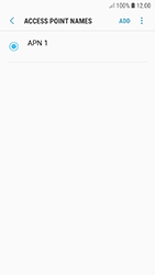 Samsung A320F Galaxy A3 (2017) - Android Oreo - Internet - Manual configuration - Step 9