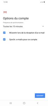 Samsung Galaxy S20+ - E-mails - Ajouter ou modifier un compte e-mail - Étape 20