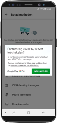 Samsung galaxy-a71-sm-a715f - Applicaties - Aankopen doen in de Google Play Store met je KPN abonnement - Stap 7