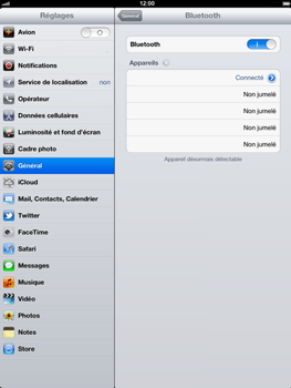 Apple iPad 4th generation - Bluetooth - connexion Bluetooth - Étape 11