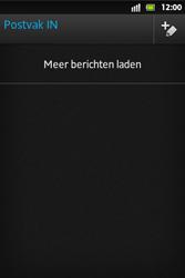 Sony ST27i Xperia Go - e-mail - hoe te versturen - stap 13