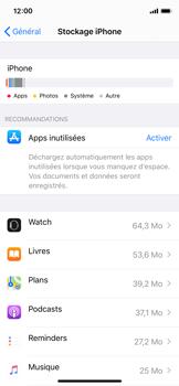 Apple iPhone X - iOS 13 - Applications - Comment désinstaller une application - Étape 8