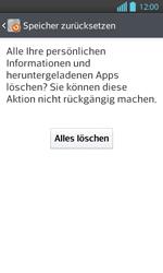 LG P710 Optimus L7 II - Fehlerbehebung - Handy zurücksetzen - Schritt 9