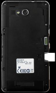 Sony Xperia E4G - SIM-Karte - Einlegen - 3 / 8