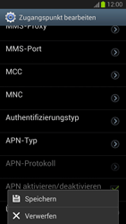 Samsung Galaxy S III - MMS - Manuelle Konfiguration - Schritt 14