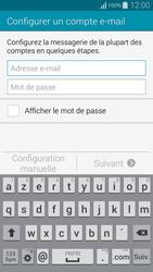 Samsung G850F Galaxy Alpha - E-mail - configuration manuelle - Étape 5