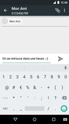 Motorola Moto E (1st Gen) (Lollipop) - Contact, Appels, SMS/MMS - Envoyer un SMS - Étape 8