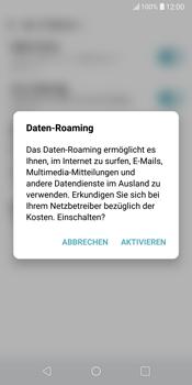 LG G6 - Android Oreo - Ausland - Im Ausland surfen – Datenroaming - Schritt 7
