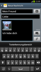 Samsung Galaxy S3 - MMS - Erstellen und senden - 0 / 0