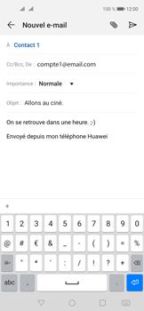 Huawei Nova 5T - E-mails - Envoyer un e-mail - Étape 10
