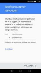 Huawei P9 Lite - Applicaties - Account aanmaken - Stap 13