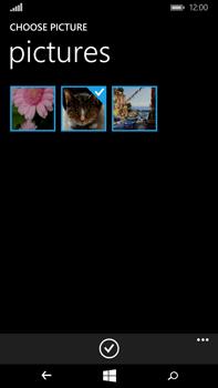Microsoft Lumia 640 XL - E-mail - Sending emails - Step 13
