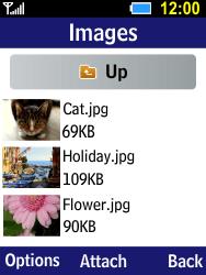 Samsung B550H Xcover 550 - E-mail - Sending emails - Step 12