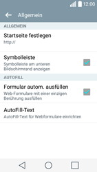 LG Leon 3G - Internet - Manuelle Konfiguration - 24 / 29