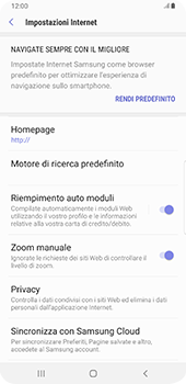 Samsung Galaxy S9 Plus - Android Pie - Internet e roaming dati - Configurazione manuale - Fase 25